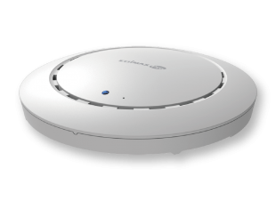 Edimax Pro CAP300 N300 Wi-Fi 4 Ceiling Mount PoE Gigabit Access Point