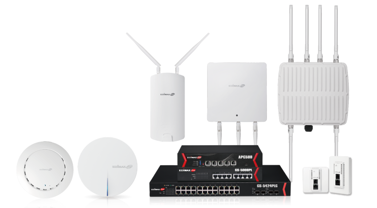 Edimax Pro Business Wi-Fi Solutions, indoor to outdoor, wired to wireless