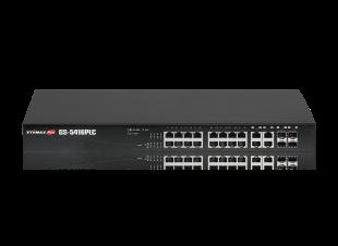 Edimax Pro GS-5416PLC Long Range Gigabit PoE Web Smart Switch, 16-Port