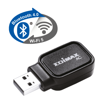 EDIMAX EW-7611UCB Embedded Wireless USB Adapter, Wi-Fi 5 and Bluetooth 4.0