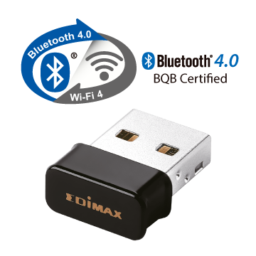 EDIMAX EW-7611ULB Embedded Wi-Fi 5 and Bluetooth 4.0 USB Adapter BQB Certified