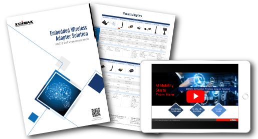 EDIMAX Embedded Wireless Solutions flyer