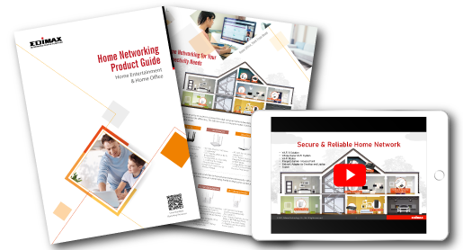 EDIMAX Home Networking Solutions flyer
