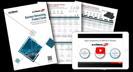 EDIMAX SMB Business Wi-Fi Solutions flyer