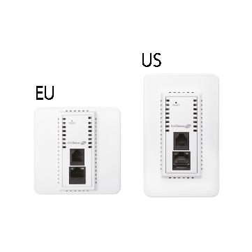 Edimax SMB Wi-Fi IAP1200 AC1200 Wi-Fi 5 Dual-Band In-Wall PoE Access Point