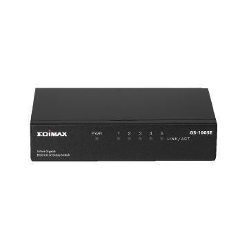 Edimax SMB GS-1005E 5-Port Gigabit Desktop Switch with Wall-Mount Design
