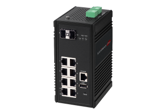 Edimax Pro Industrial Switch, Gigabit, SFP, fiber optical, robust, durable, rugged, ruggedized, IGS-5208