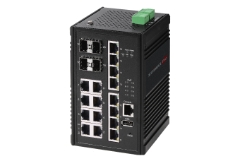 Edimax Pro Industrial Switch, Gigabit, SFP, fiber optical, PoE, robust, durable, rugged, ruggedized, IGS-5416P
