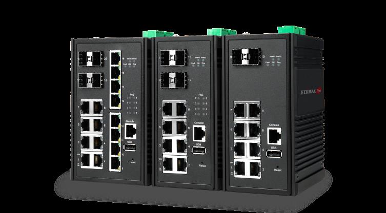 Edimax Pro Industrial Switch, IGS-5416P, IGS-5408P, IGS-5208