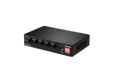Edimax ES-5104PH V2 5-port Unmanaged PoE Switch with long range, QoS, VLAN hardware switch
