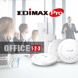 Edimax Office 1-2-3 Simple and Secure Wi-Fi