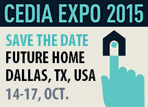 Edimax at CEDIA EXPO 2015, Dallas, TX, USA, OCT. 14-17 & GITEX 2015, Dubai World Trade Centre, 18-22 OCT