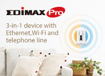 Edimax, Edimax Pro, 3-in-1 In-Wall AP, Edimax Pro IAP1200 In-Wall PoE Access Point