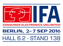 Edimax at IFA, Berlin, Sep. 02-07, 2017 Hall 6.2, Stand 138