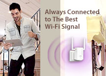 Edimax, RE11, Gemini Whole Home Wi-Fi System, Wi-Fi system, Roaming
