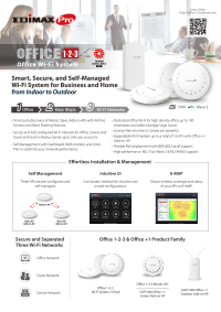 Office 1-2-3 Wi-Fi System for Business and Home from Indoor to Outdoor (DM)