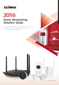 Edimax 2016 Home Networking Solution Guide