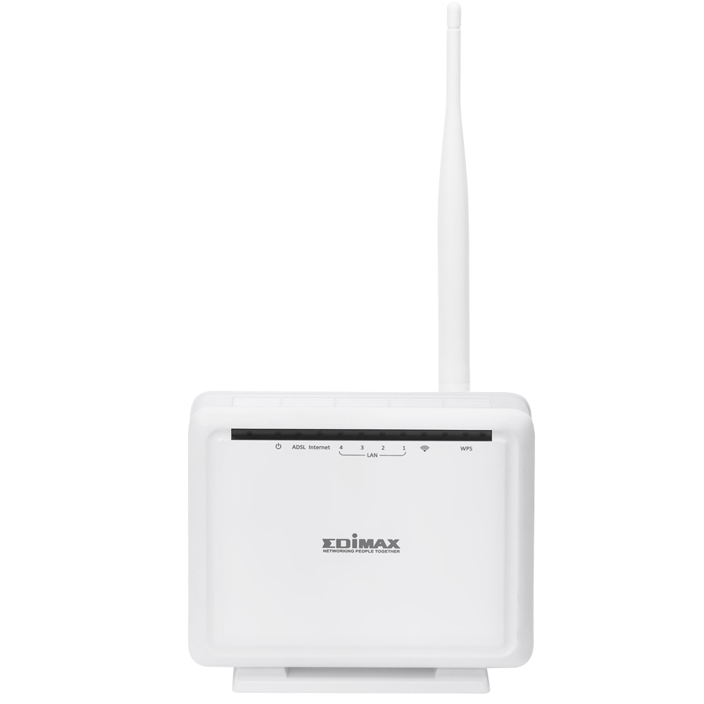 EDIMAX - ADSL Modem Router - N150 Wi-Fi - 150 Mbit/s Drahtloser ADSL ...