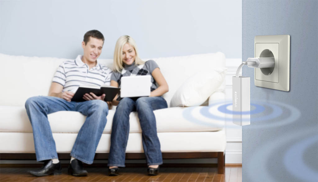 Edimax BR-6258nl Home exendderm mode