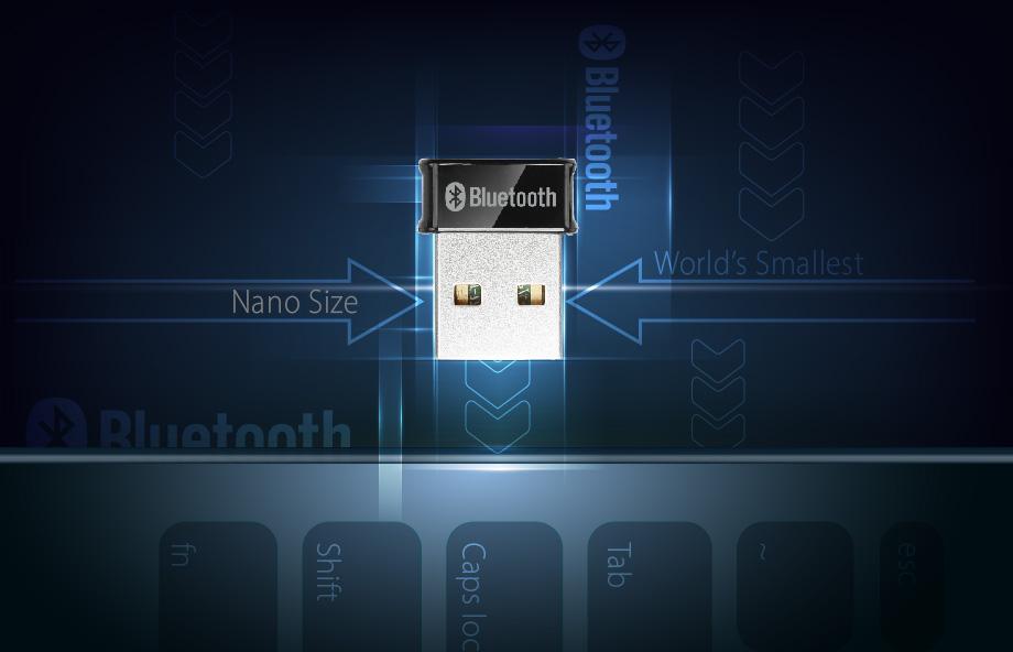 Edimax BT-8500 Bluetooth 5.0 Wireless USB Adapter, BQB Certified, Nano Size