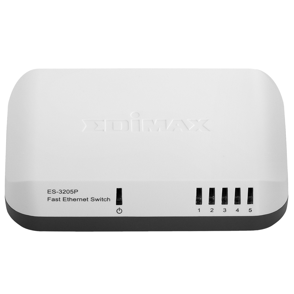 EDIMAX - Legacy Products - Switches - 5 Ports Fast Ethernet Switch