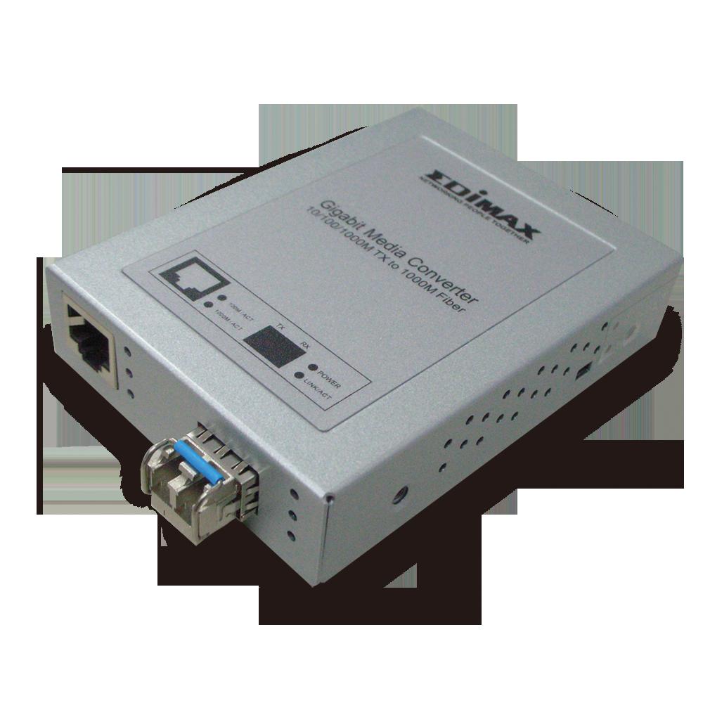 Edimax Media Converters Gigabit Ethernet 10 100