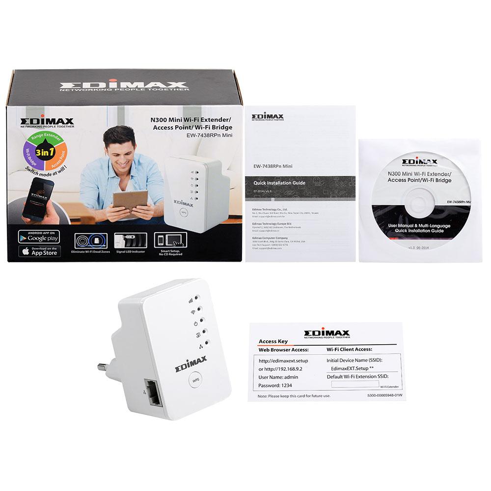 edimax wi fi range extenders n300 n300 mini wi fi extender rh edimax com edimax ew-7438rpn firmware update edimax ew-7438rpn mini manual