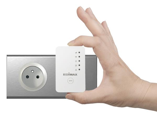 Edimax EW-7438RPn Mini Wi-Fi Range Extender, Compact, Slim Wall Plug Design
