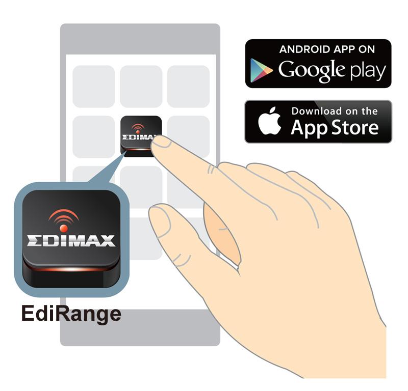 Edimax EW-7438RPn Mini Wi-Fi Range Extender, Smart App Control & Analytics