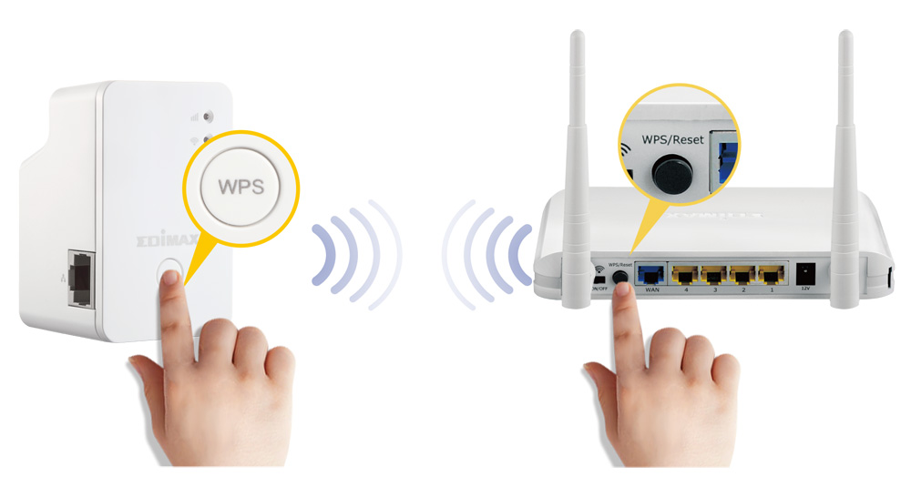 Edimax EW-7438RPn Mini Wi-Fi Range Extender, Quick And Easy WPS Installation
