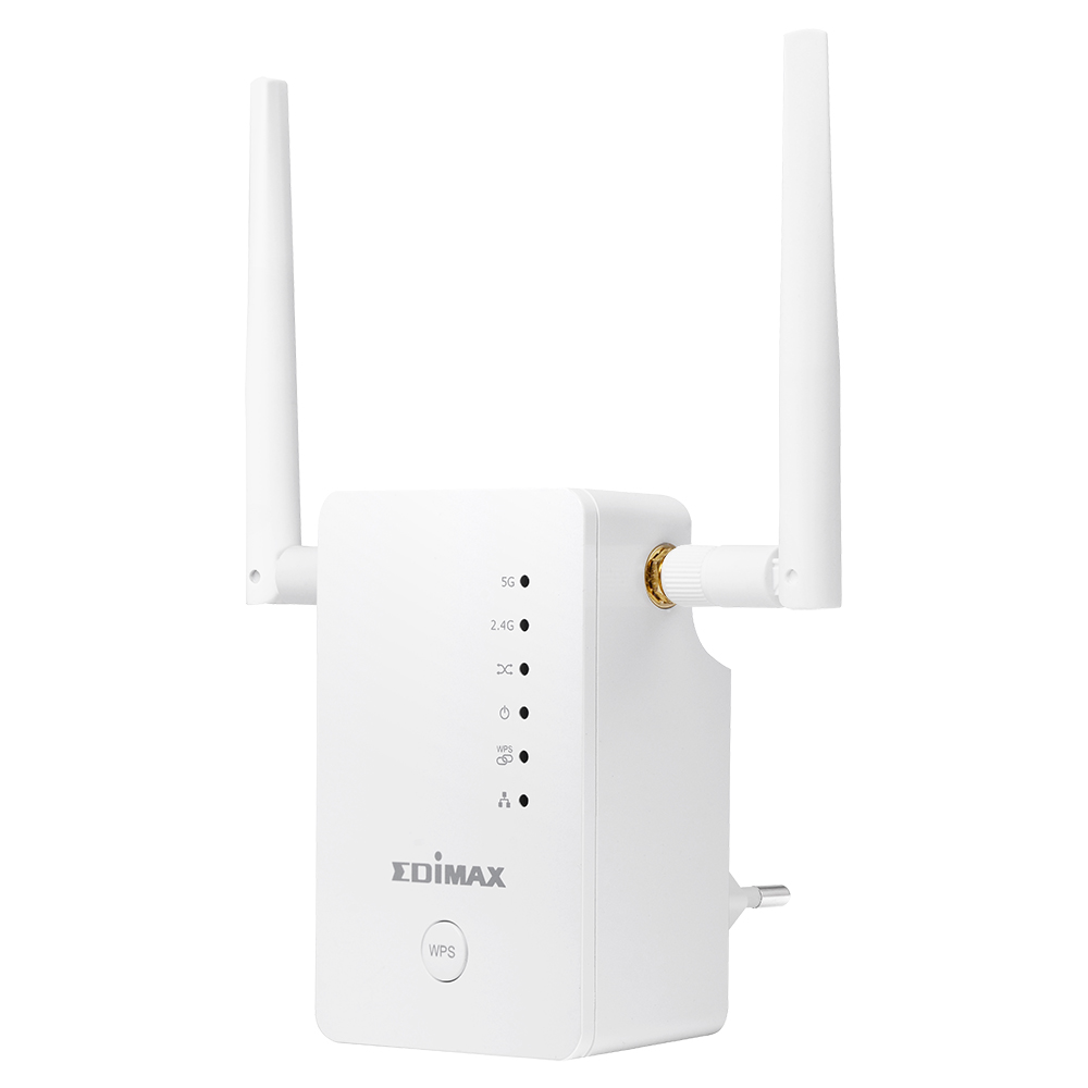 EDIMAX - Wi-Fi Range Extenders - AC1200 Dual-Band - Smart