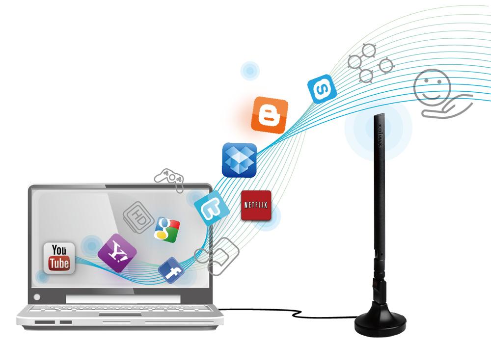 EDIMAX - Legacy Products - Wireless Adapters - AC600 Wi-Fi