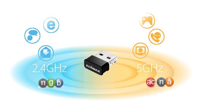 AC1200 Dual-Band MU-MIMO USB Adapter - EDIMAX