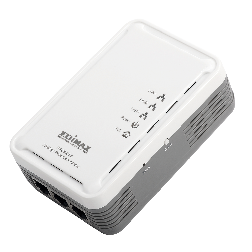 Edimax Legacy Products Powerline 200mbps Ethernet Network With Homeplugs Using Just Your Existing Electrical Wiring For Middle East Only