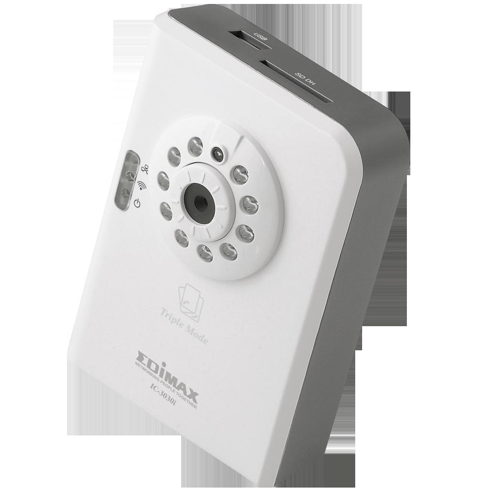 EDIMAX - Netzwerkkameras - Innenbereich, fest - Triple Mode Fast ...