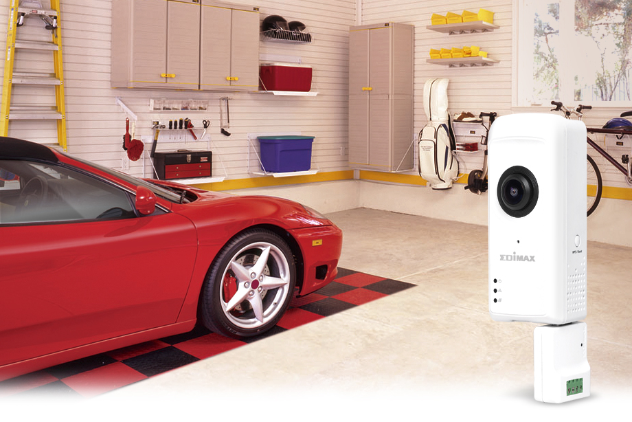 Edimax IC-5160GC Garage Door Camera with Smart Geo-fencing