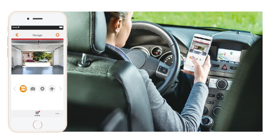 Edimax Smart Full Hd Cloud Garage Camera 180 View And Door
