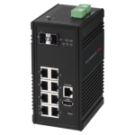 Edimax Pro Industrial Switch IGS-5208 for Harsh Environment in IIoT and Smart City, Manufacturing, Automotive