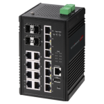 Edimax Pro Industrial Switch IGS-5416P for Harsh Environment in IIoT and Smart City, Manufacturing, Automotive