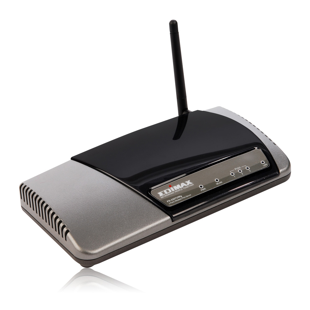 EDIMAX - Legacy Products - Print Server - Wired / Wireless 2 USB 2.0 ...