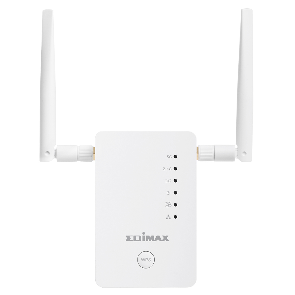 AC1200 Dual-Band Home Roaming Wi-Fi Upgrade Extender - EDIMAX