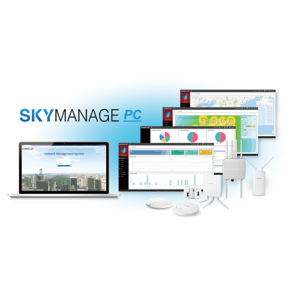 Skymanage Pc Wireless Network Management Software For Business And Si Projects Edimax Edimax