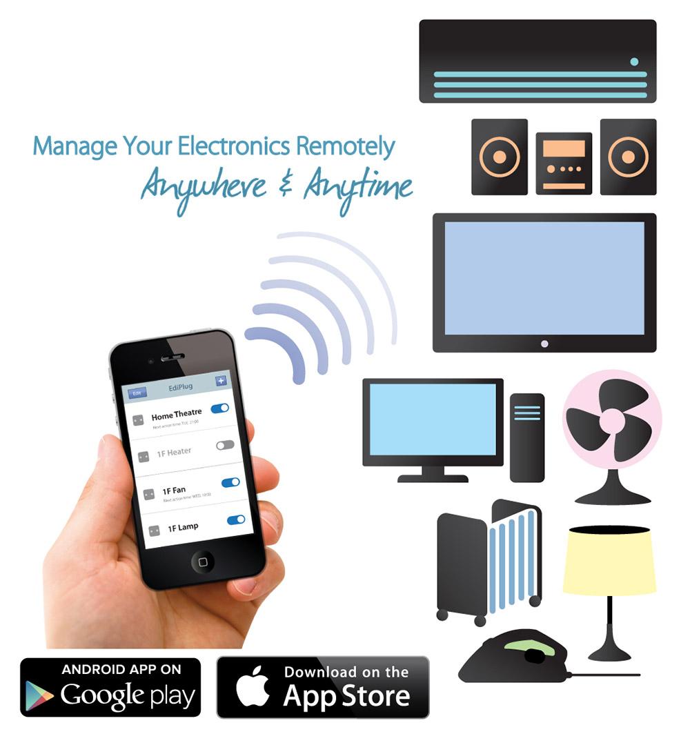 EDIMAX - Home Automation - Smart Plug - Smart Plug Switch