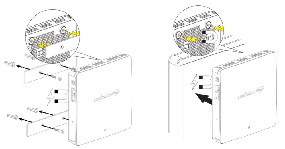Edimax Edimax WAP1200 2 x 2 AC Dual-Band Wall-Mount PoE Access Point, wall-mount easy installation