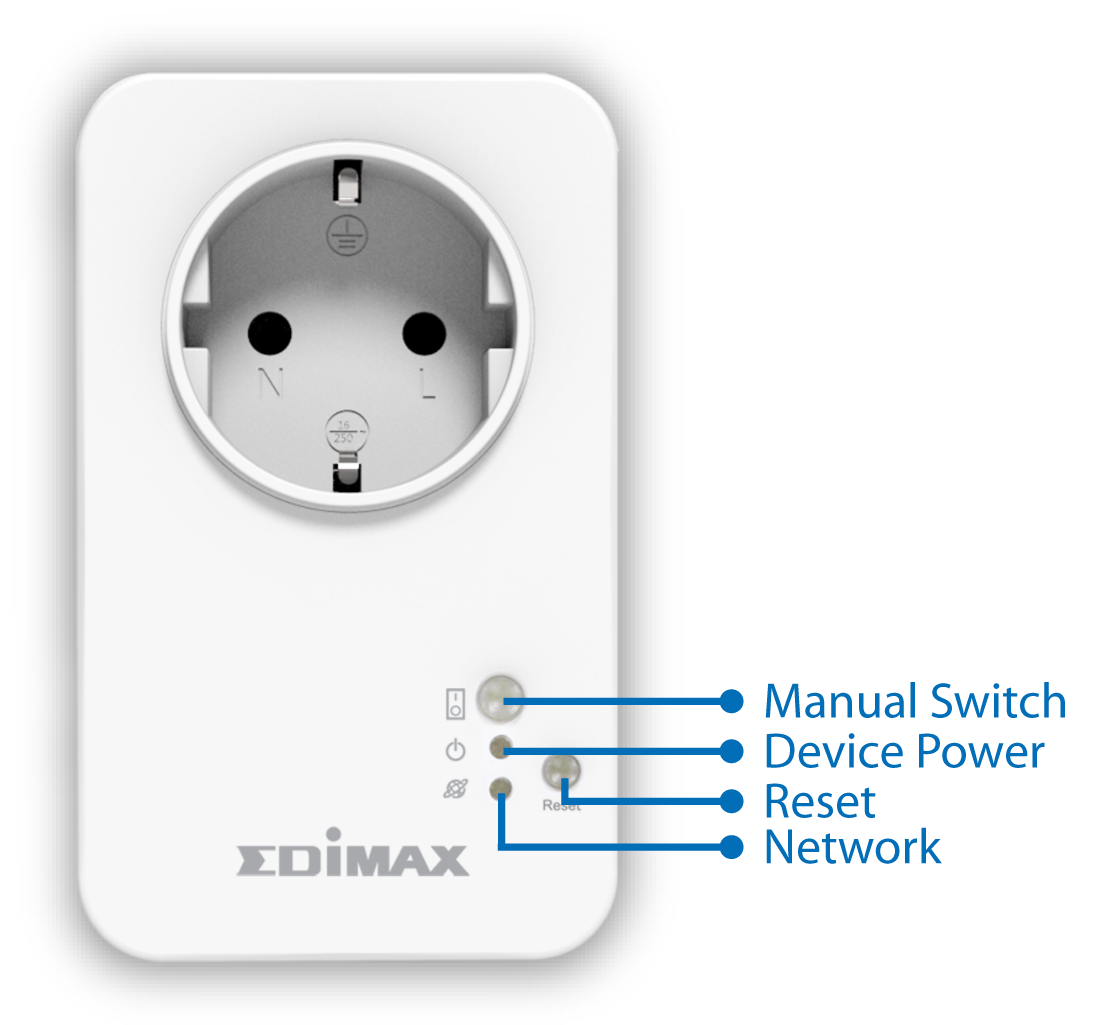 Edimax Smart Plug Switch, Intelligent Home Control, SP-1101W_HW_interface.png